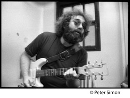 First page of Jerry Garcia: portrait with guitar