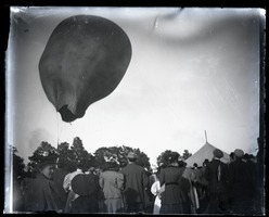 First page of Hot air balloon deflating