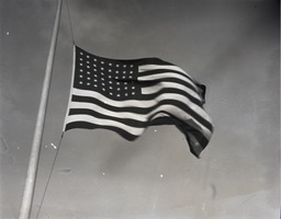 First page of 48-star United States flag