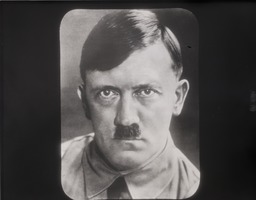 First page of Adolf Hitler: portrait facing camera