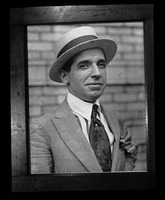 First page of Charles Ponzi Copy image of an informal portrait
