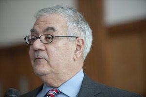 First page of Close-up of Congressman Barney Frank at UMass Amherst