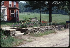 First page of Flower bed in front of the house, Montague Farm Commune