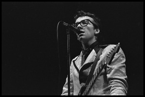 First page of Elvis Costello and the Attractions in concert: Elvis Costello in close-up