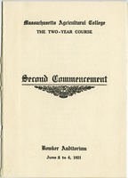 First page of Second commencement