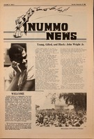 First page of Nummo news v. 12