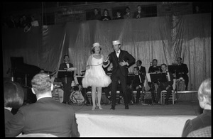 First page of Winter Carnival: Bud and CeCe Robinson (dancers) performing with the Johnny Carson Show, Curry Hicks             Cage, UMass Amherst