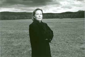 First page of Valerie Martin standing by a field
