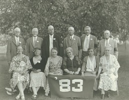 First page of Class of 1883 at 50th reunion