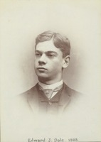First page of Edward J. Dole, class of 1888