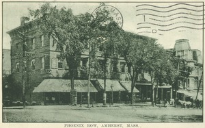 First page of Phoenix Row, Amherst