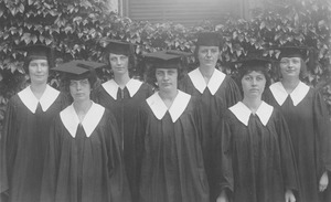 First page of Class of 1923 women graduates