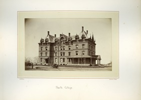 First page of North College, Massachusetts Agricultural College
