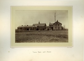 First page of Farm house and barns, Massachusetts Agricultural College