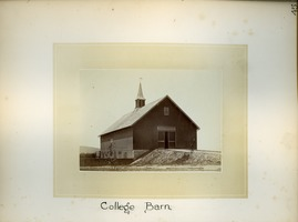 First page of College barn, Massachusetts Agricultural College