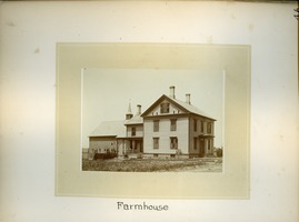 First page of Farmhouse, Massachusetts Agricultural College