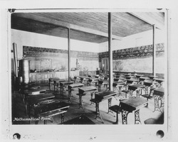First page of 'Mathematical room': classroom in the Entomology Building