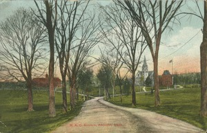First page of M.A.C. Avenue, Amherst, Mass.
