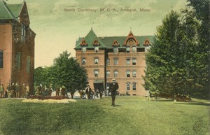 First page of North Dormitory, M.C.A., Amherst, Mass.