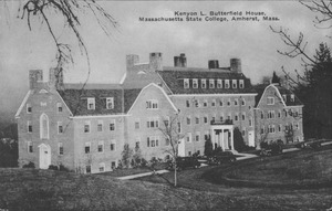 First page of Kenyon L. Butterfield House, Massachusetts State College, Amherst, Mass.