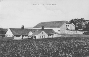 First page of Barn, M.A.C., Amherst, Mass.