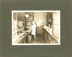First page of West Experiment Station Room 14 (laboratory), Massachusetts Agricultural College