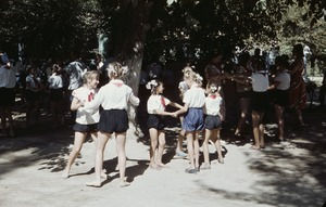 Thumbnail of Girls learn to dance