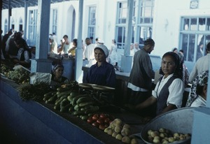 Thumbnail of Women selling vegetables