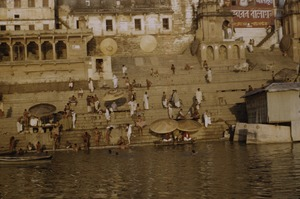 Thumbnail of Bathing in Varanasi