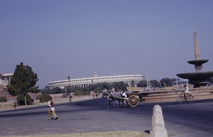 Thumbnail of Indian Parliament area of New Delhi