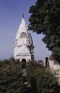 Thumbnail of A Hindu temple in a village in Delhi