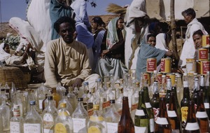 Thumbnail of Selling bottles at the market in Ranchi