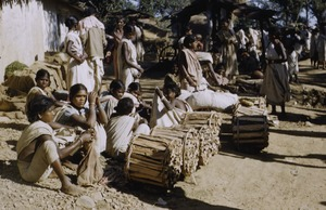 Thumbnail of Women and children at the wood market in Ranchi