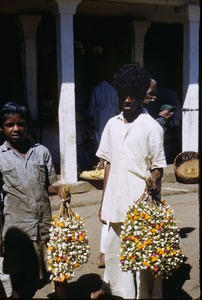 Thumbnail of Boys carrying garlands