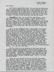 Thumbnail of Letter from Barbara Halpern to Nettie and Carl Halpern