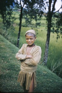 Thumbnail of Poor rural child wearing a cap