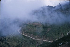 Thumbnail of Mist above the road in Kathmandu Valley