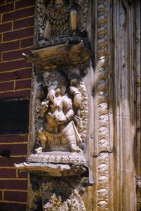 Relief sculpture of Ganesh