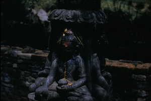 Thumbnail of Anointed Buddhist shrine