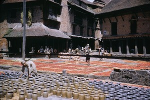 Thumbnail of Pottery in square in Bhaktapur