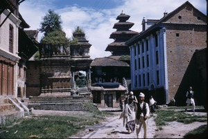 Thumbnail of Cluster of buildings in Bhaktapur