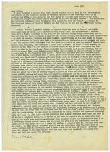 Thumbnail of Letter from Joel M. Halpern to Nettie and Carl Halpern