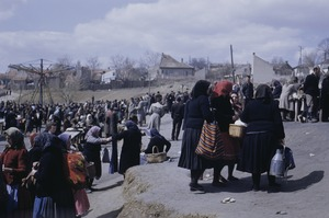 Thumbnail of Women leaving Belgrade market