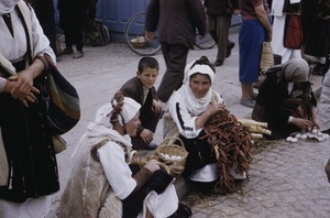 Thumbnail of Women at Skopje market