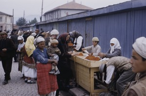 Thumbnail of Women shopping at Skopje market