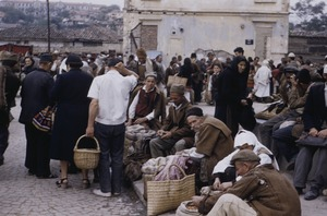 Thumbnail of Selling grain at Skopje market