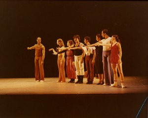 Thumbnail of Luxuriation: Richard Jones (l) with dancers