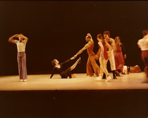 Thumbnail of Luxuriation: Richard Jones (c) with dancers