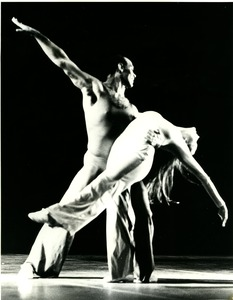 Thumbnail of Luxuriation: Richard Jones holding dancer
