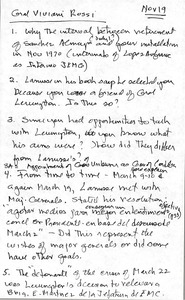 Thumbnail of Miguel Viviani Rossi oral history with Robert A. Potash: transcript and notes